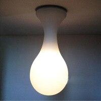 Простой рисунок капли воды капельки лампа светильник потолочный стекло спальня потолочный светильник