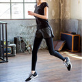 2017 New Arrival Women Workout Leggings Stitching High Elasticity Slimming Pant Fitness Women Breathable Women Pant S-XXXL
