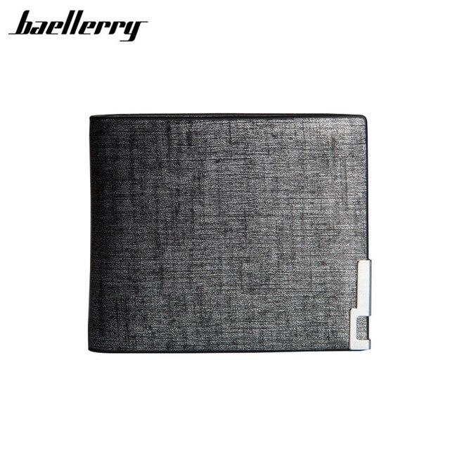 749e63a303 Baellerry stilista cuoio dell'unità di elaborazione sottile sottile mini uomini  portafoglio uomo piccolo borsa