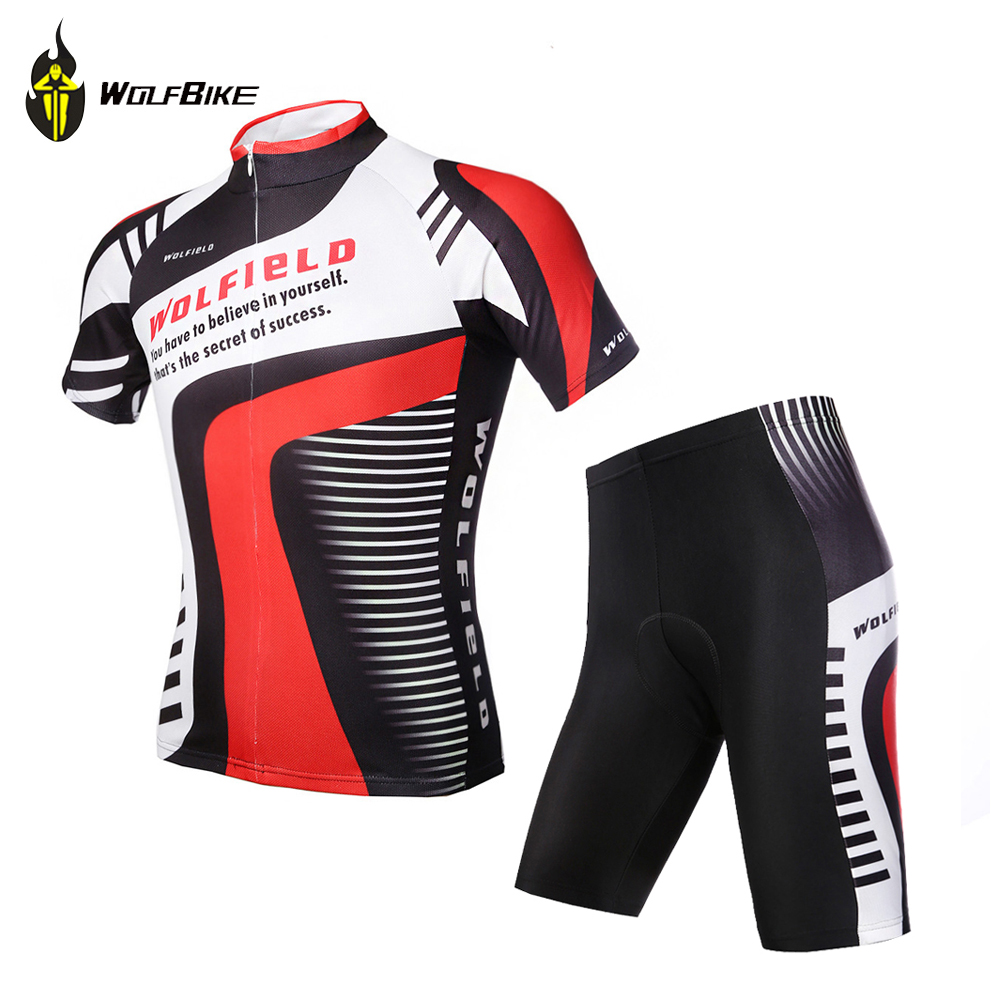 WOSAWE Breathable Cycling Jersey Road Bicycle Clothing Roupa Ciclismo MTB Mountain Riding Bike clothing Gel Padded Suit