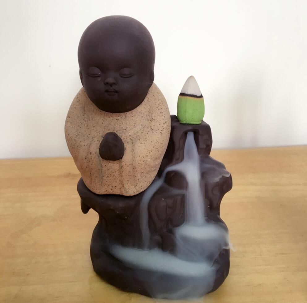 Zen Incense Monk 5