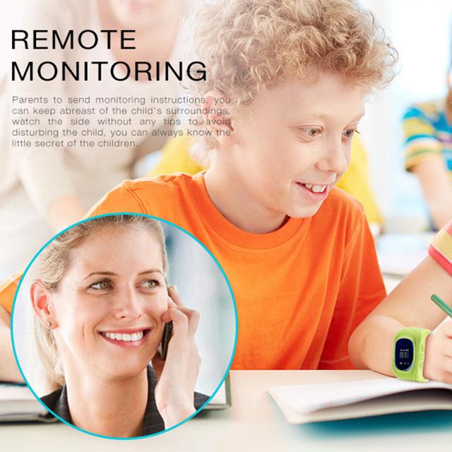 TORNTISC smart watch Q50 passometer kids watches smart Baby  children watch GPS 2rd generation SOS Location Finder