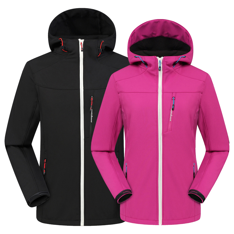 2019 Autumn Winter Outdoor Soft shell Jacket Waterproof Windproof Thermal Jacket Hunting Cycling Fishing Sports Couples Jacket
