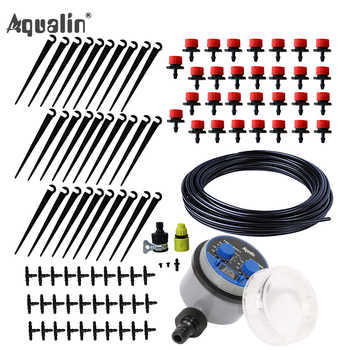 25m Garden DIY Automatic Watering Micro Drip Irrigation System Garden Self  Watering Kits with Adjustable Dripper #21025I - DISCOUNT ITEM  44% OFF All Category