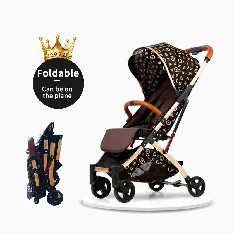 5.8 kg poussette légère Portable pliant parapluie chariot cadre en aluminium bébé poussette voyage landau avion envoyer livraison gratuite