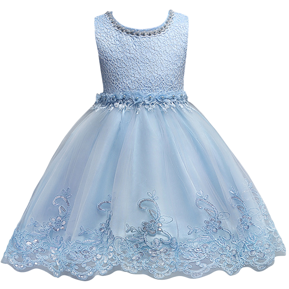Pears Princess Girls Christmas Birthday Party Dresses Light Blue ...