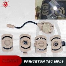 Night Evolution Princeton Tec MPLS, système déclairage personnel modulaire à monture Molle, Zcombat militaire, extérieur, NE05012