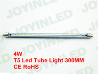AC220V 4W Led Tube Light T5 440LM 39leds 2835 Warm Pure White Cabinet Lamps Indoor Energy