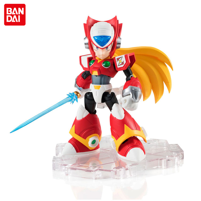 Japan Anime Rockman Rock Mega Man X Original BANDAI Tamashii Nations NXEDGE STYLE Action Figure - ZeroJapan Anime Rockman Rock Mega Man X Original BANDAI Tamashii Nations NXEDGE STYLE Action Figure - Zero