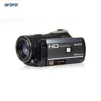 Ordro D395 HDV Цифровая Видеокамера 1080 P Full HD Видеокамера 24MP 18x Зум 3.0 сенсорный Экран Инфракрасного Ночного Видения бесплатная доставка