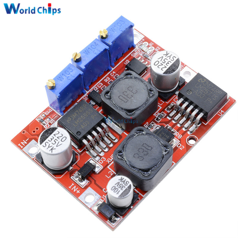 Electronic Components & Supplies Active Components Temperate High Frequency Max 8a Dc-dc Step Up Isolation Booster Power Supply Converter Module Boost Board Solar Battery Charger Charging Punctual Timing