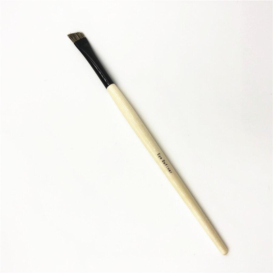 Хорошее Качество натуральные животные волосы Угловая Кисть для макияжа глаз кисть для бровей инструмент для красоты