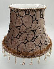 E27 Art Deco Lamp shade for table lamp Lace Abstract simple Pattern Textile coffee fabric  lampshade modern style lamp cover
