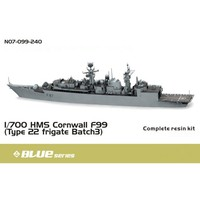 ce0eb0e6347b OHS Orange Hobby N07099240 1 700 HMS Cornwall F99 Type 22 frigate Batch 3  Assembly