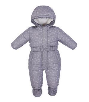 Здесь продается  Baby Boys Girls Rompers 2017 Winter Long Sleeve Printed Thicken Infant Bodysuits Hooded Keep Warm Unisex Newborn Kids Outerwear  Детские товары