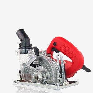 Image 4 - AMYAMY High power stone saw electric saw dustproof design for stone tile cutting cutter machine 1800W 220V EU Plug
