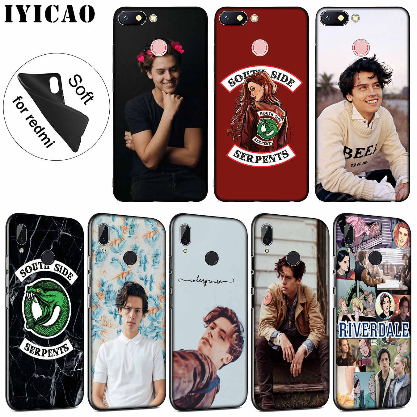 IYICAO Riverdale Jughead Jones Soft Silicone Phone Case for Xiaomi Redmi K20 7A 6A 5A S2 4X 4A GO Note 7 5 Plus 6 Pro TPU Cover