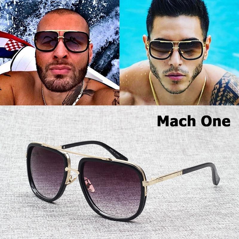 JackJad 2018 Moda Mach One Style Adam Lambert Aviation Sončna očala Vintage Blagovne znamke Sončna očala Moški Ženske Oculos De Sol