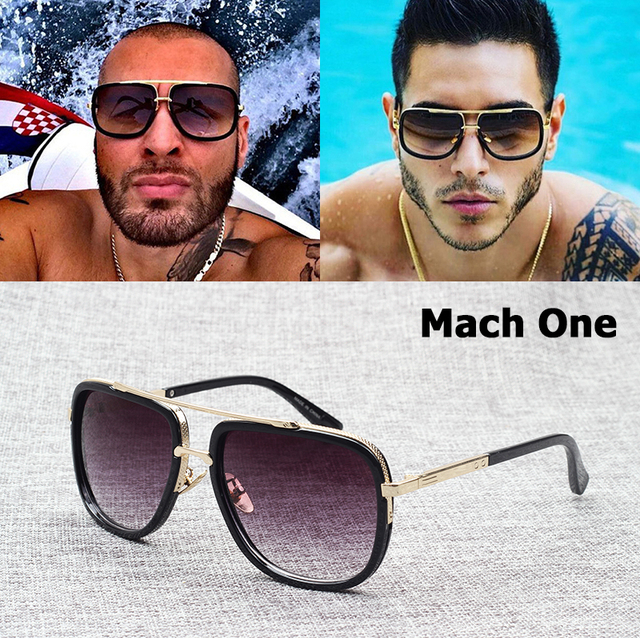 799788d3450 JackJad 2018 Fashion Mach One Style Adam Lambert Aviation Sunglasses  Vintage Brand Design Sun Glasses Men
