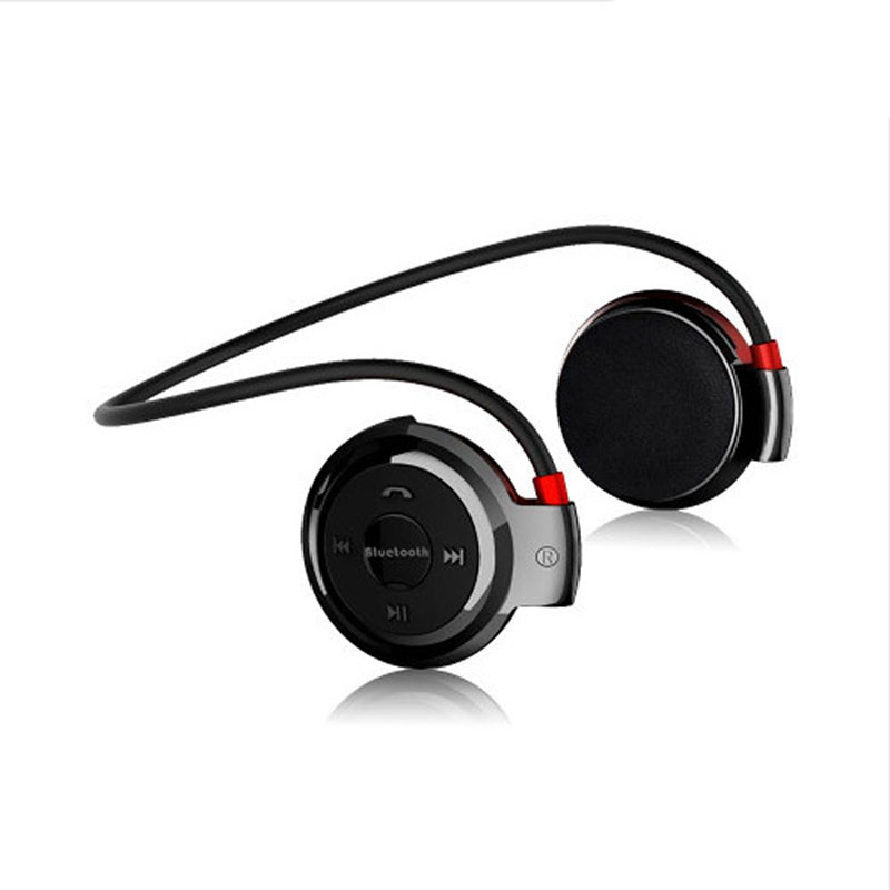 10m Wireless Running Sports Hanging Bluetooth 4.0 Headphones Headset Stereo Earphone MP3 Music Rechargeable Ear Phones FM Radio