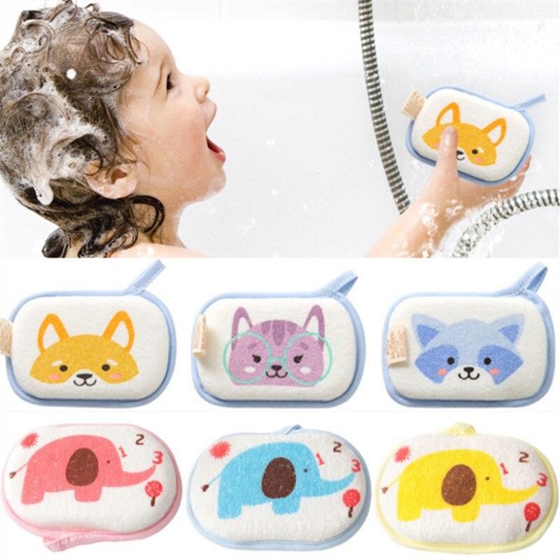 baby bath towel gloves toddler soft Baby Wash Baby Bath Towel Cotton Gloves 4PCs