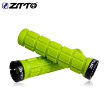 ZTTO/ A pair of bicycle pattern non-slip color silicone handle sets Mountain road bike comfortable and durable handlebar cover