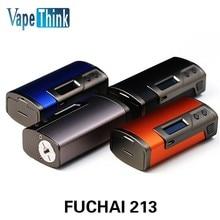 Original Sigelei Fuchai 213 Caja Mod 10 w-213 W 0.1 Fuchai 213 w TC 0.5-3.0ohm Mod Electrónica cigarrillos Fuchai 213
