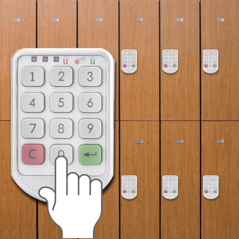 Intelligent Digital Electronic Password Keypad Number Cabinet Door Code Locks Zinc alloy Cabinet Lock