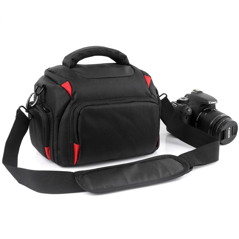 2018 DSLR Camera Bag For Canon 200D 5D Mark IV III II 750D 6D 1300D 1100D Nikon D7200 D5300 D3400 Canon Camera Case Photo Bag