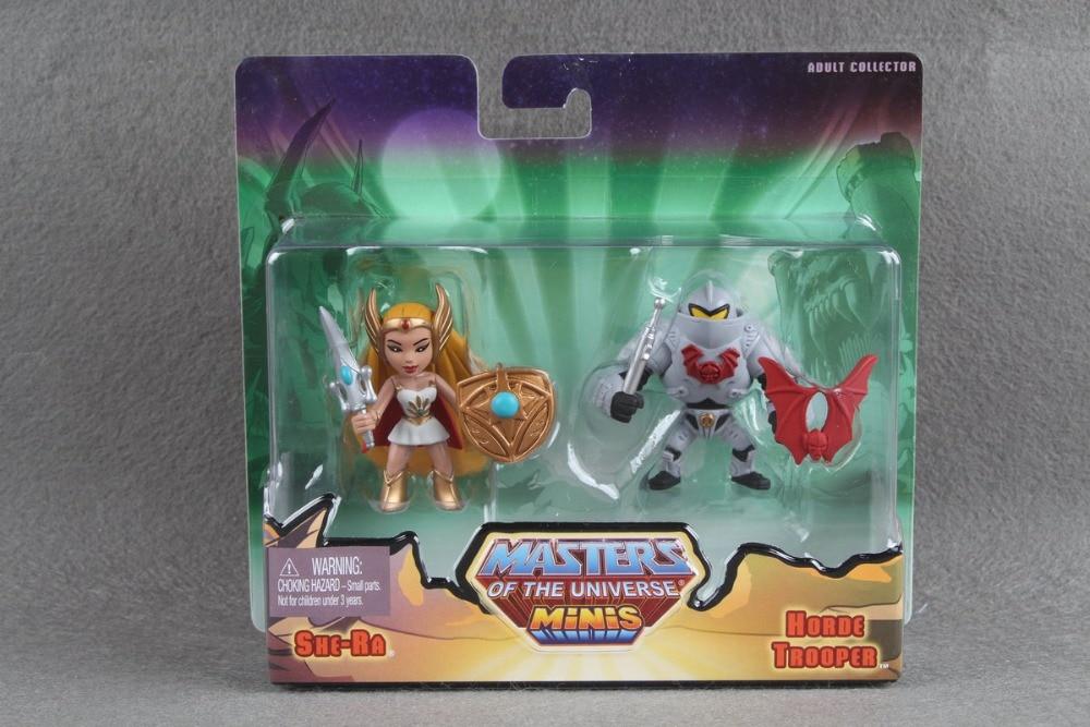 He-Man Masters of the Universe Minis Exclusive Mini Figure 2-Pack She-Ra & Horde Trooper цена 2017
