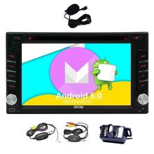 Wireless Backup Camera included! Android 6.0 Car Stereo 2 Din Touch Screen Car DVD Player GPS Navigator Vehicle Radio Headunit