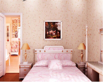beibehang papel de parede Pastoral environmental nonwovens wall paper warm small floral living room bedroom background wallpaper beibehang small floral rustic wallpaper rolls tv background wall paper girls room papel de parede wall paper home decor behang