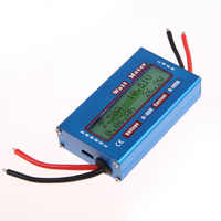 LCD Digital Current Energy Meter DC Power Analyser Watt Volt Amp Meter Ammeter 12V 24V Solar Wind Analyzer