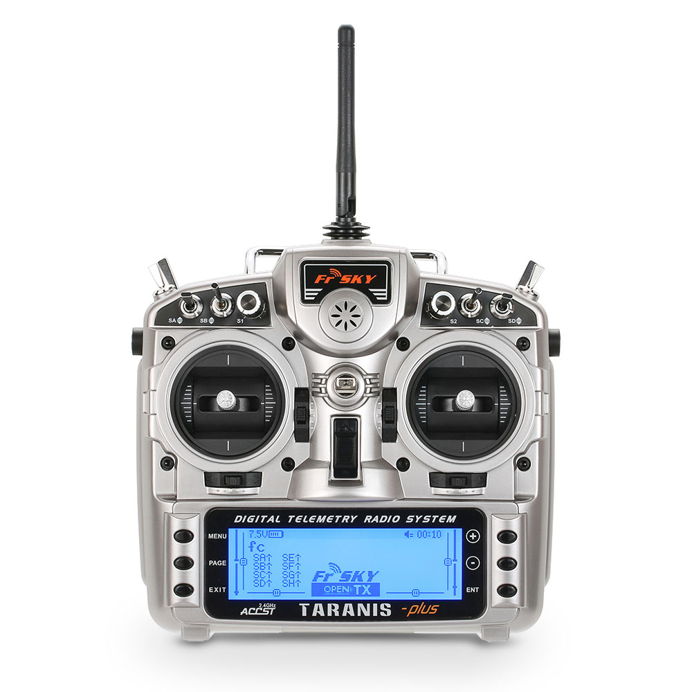 FrSky 2.4G ACCST 16CH Taranis X9D Plus Telemetry Radio Transmitter Open TX Mode 2 for RC Quadcopter Helicopter Fpv racing drone frsky accst taranis q x7 transmitter 2 4g 16ch mode 2 left throttle for rc hobbies helicopter fixed wing fpv racing drone