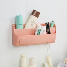 Strong magic stick, hanging cosmetic box sundries storage rack 23*10cm Free shipping