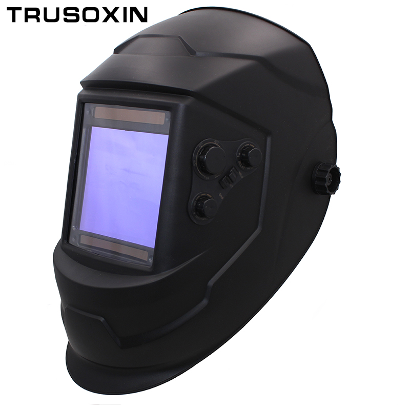 Big View Eara 4 Arc Sensor DIN5-DIN13 Solar Auto Darkening TIG MIG MMA Welding Mask/Helmet/Welder Cap/Lens/Face mask/Goggles welder machine plasma cutter welder mask for welder machine
