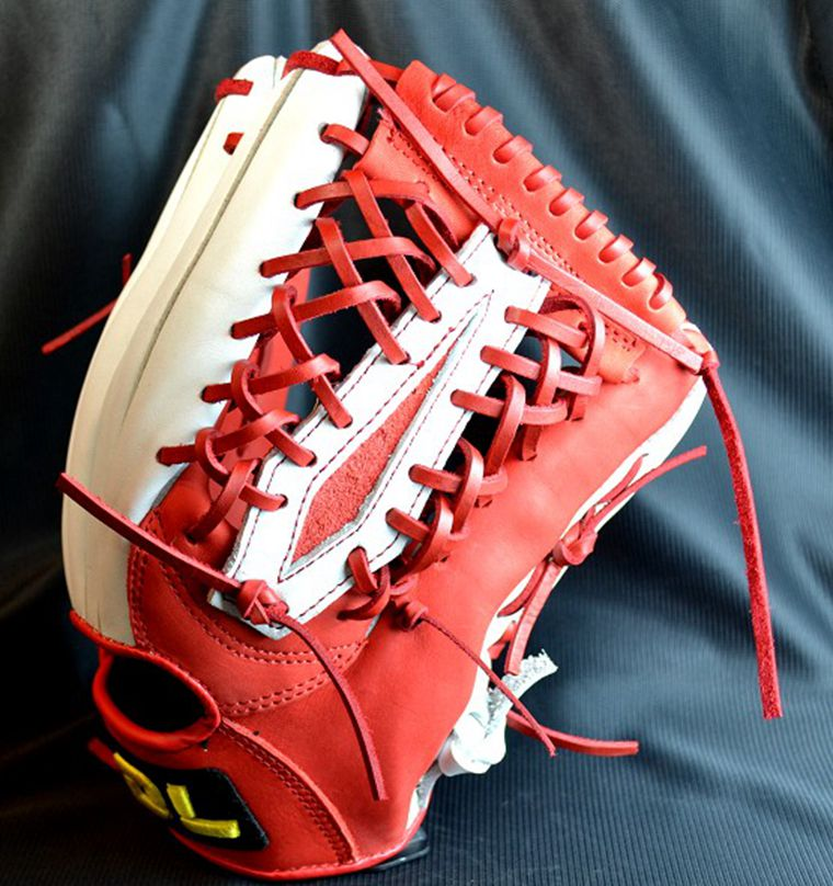 Лидер продаж! Натуральная кожа Для мужчин женщина Pro Player Бейсбол Софтбол перчатка натуральной кожи Бейсбол Перчатки Открытый Командные вид
