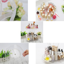 360 Degree Clear Acrylic Make Up Organizer