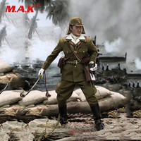 Collectible Soldier Figure Model Toys JP639 1/6 Scale Imperial Japanese Army First Lieutenant Sachio Eto Figure Toy for Gift