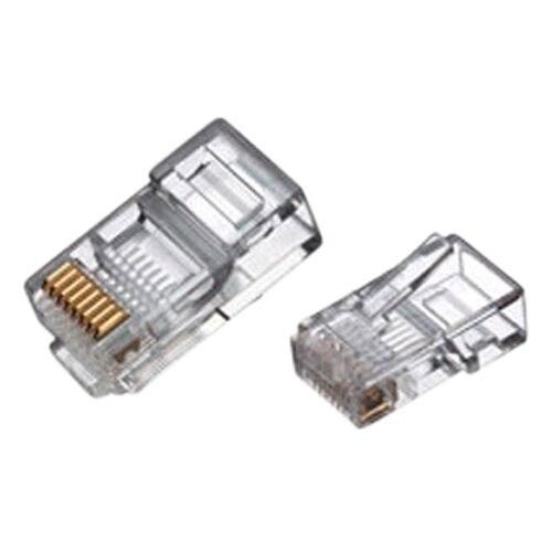 Computer Cable Ends : New rj connector network cable cat crimp ends plug