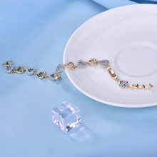 Wedding Bridal Bracelet With Cubic Zirconia