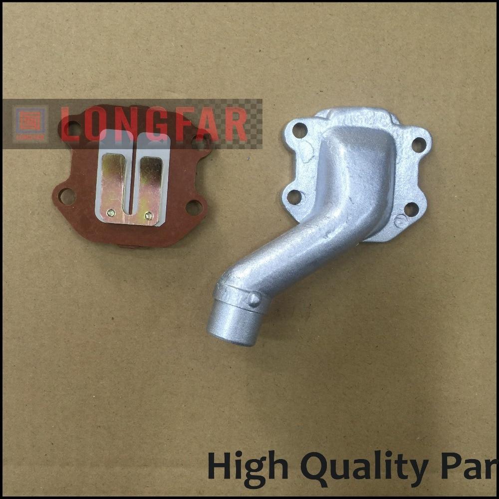 INLAATPIJP SPRUITSTUK + REEDKLEP VOOR PW 50 PW50 CARBURATEUR - Motoraccessoires en onderdelen