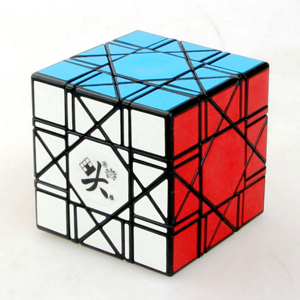 Dayan 6 Axis 8 Rank Cube Bagua Magic Cube Speed Puzzle Game Cubes Educational Toys for Kids Children qiyi megaminx magic cube stickerless speed professional 12 sides puzzle cubo magico educational toys for children megamind