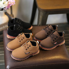Children's shoes 2018 new children's snow boots baby thickening non-slip children's boots boys tendon bottom casual shoes(China)