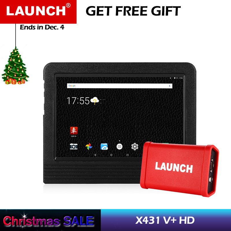 Lancement X431 V + Outil De Diagnostic HD Heavy Duty Truck Diagnostic Module Wifi Bluetooth Véhicule À Essence Diesel Camion scanner Auto