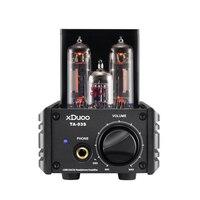 XDUOO TA 03S USB ЦАП XMOS U8 CS4398 12AU7 6C19 Desktop ламповый усилитель для наушников 32Bit 192 кГц DSD128 CS4398 2 шт
