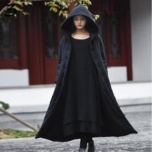 XMY3DWX модницы зимой, чтобы согреться высококачественный хлопок и лен больше Капюшоном хлопка-проложенный одежды/женственность пальто