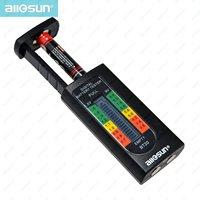 All-dom BT20 Venta Caliente Hogar Digital Probador de La Batería de 1.5 V 9 V Capacidad de La Batería del AA AAA C D herramienta de Bolsillo