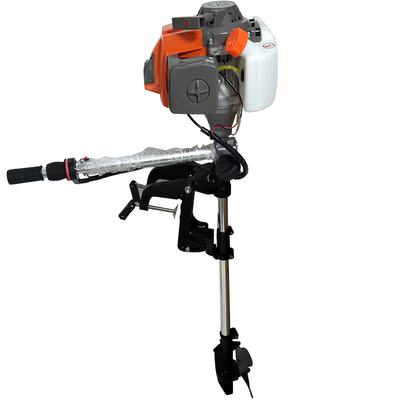 Forced Air-cooled 2.2HP52CC/2.5HP62CC Two-stroke/4HP144 Four-stroke Outboard Gasoline Engine.