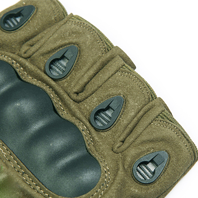 Tactical Fingerless Gloves Military Army Shooting Paintball Airsoft Bicycle Motorcross Combat Hard Knuckle Half Finger Gloves 2